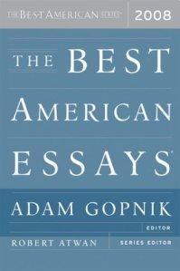 best essays 2008